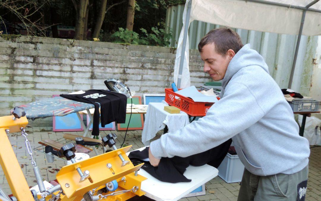 Siebdruck-Werkstatt und Fahrrad-Selbsthilfe