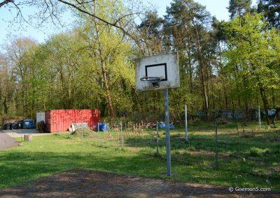 Parkclub Garten und Basketball