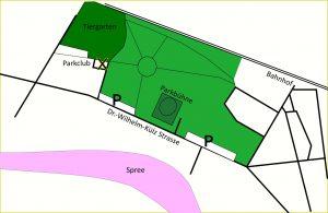 Lageplan Parkclub Fuerstenwalde