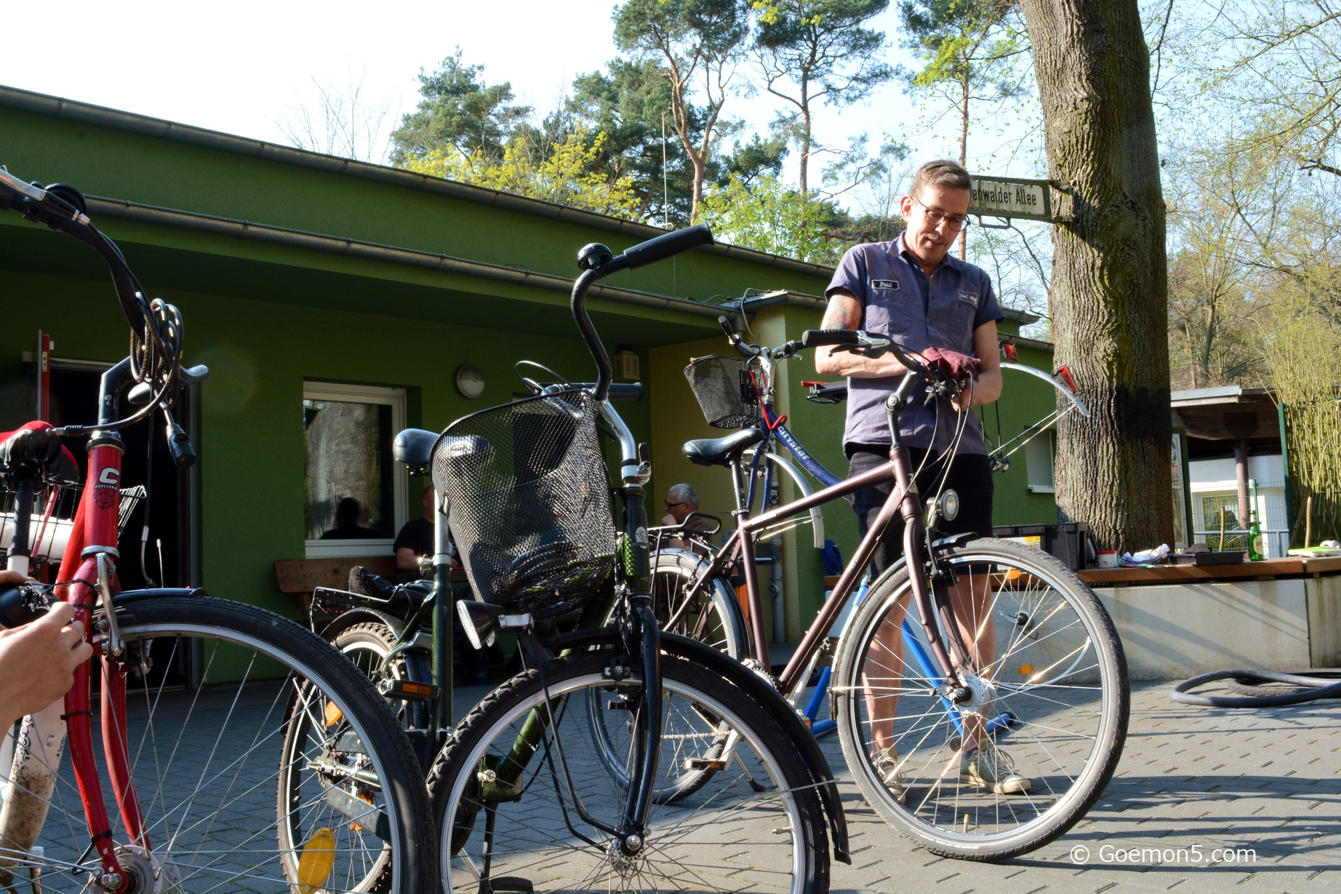 Fahrradwerkstatt im Parkclub