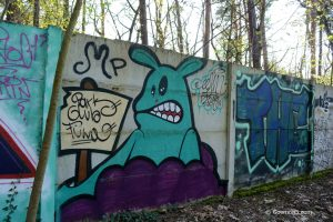 Graffiti at Parkclub