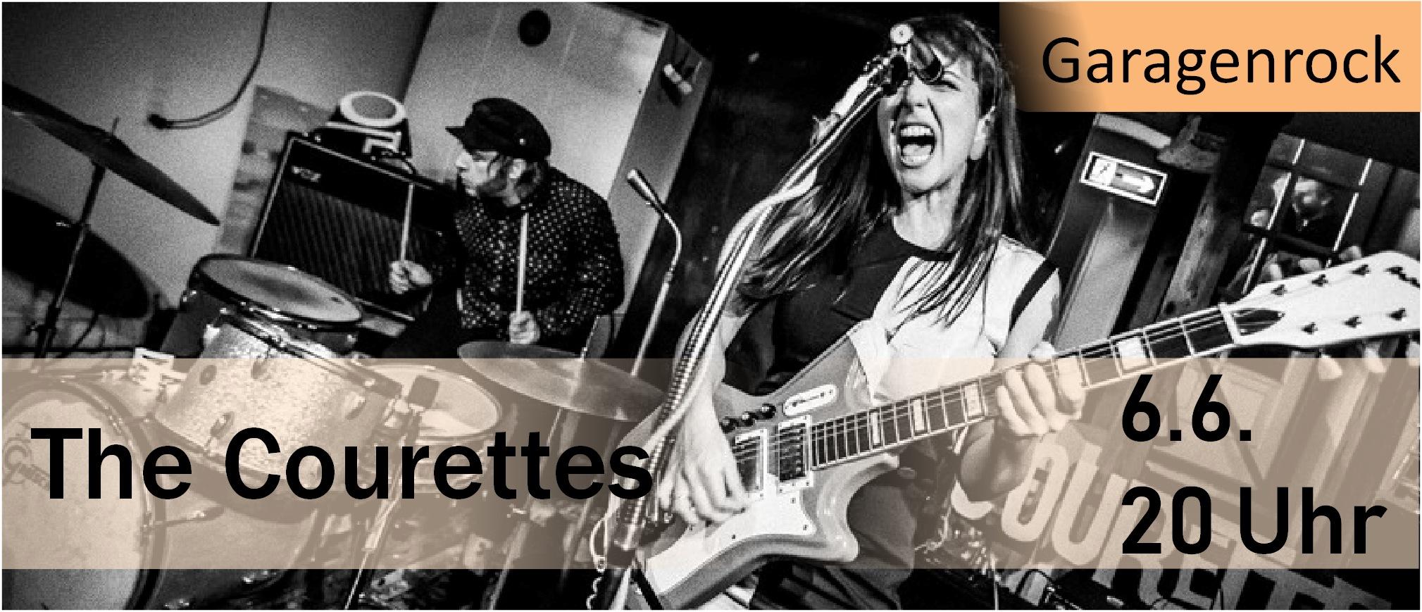 The Courettes im Parkclub, photo via Jakob Hansen