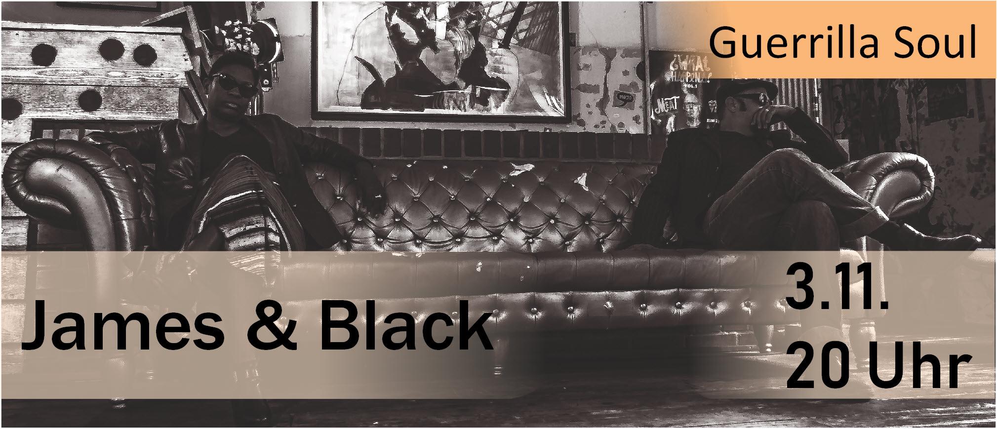 James & Black im Parkclub