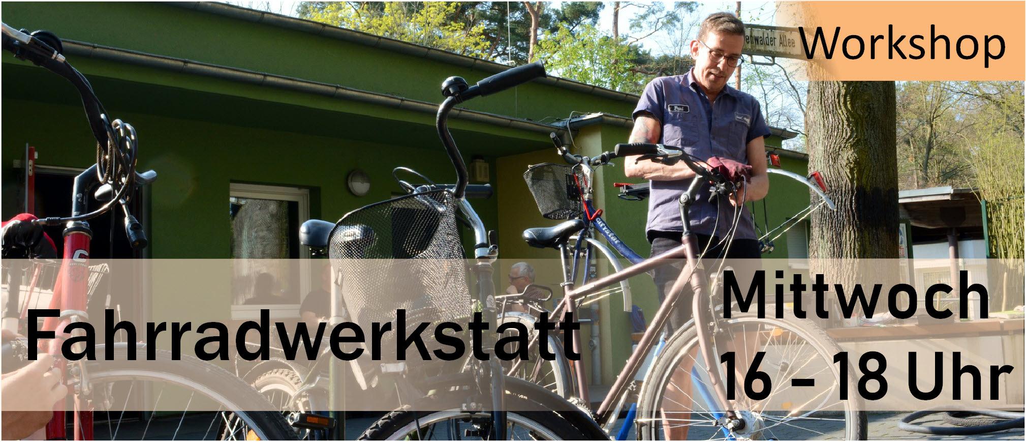 Parkclub Fahrradwerkstatt Öffnungszeiten