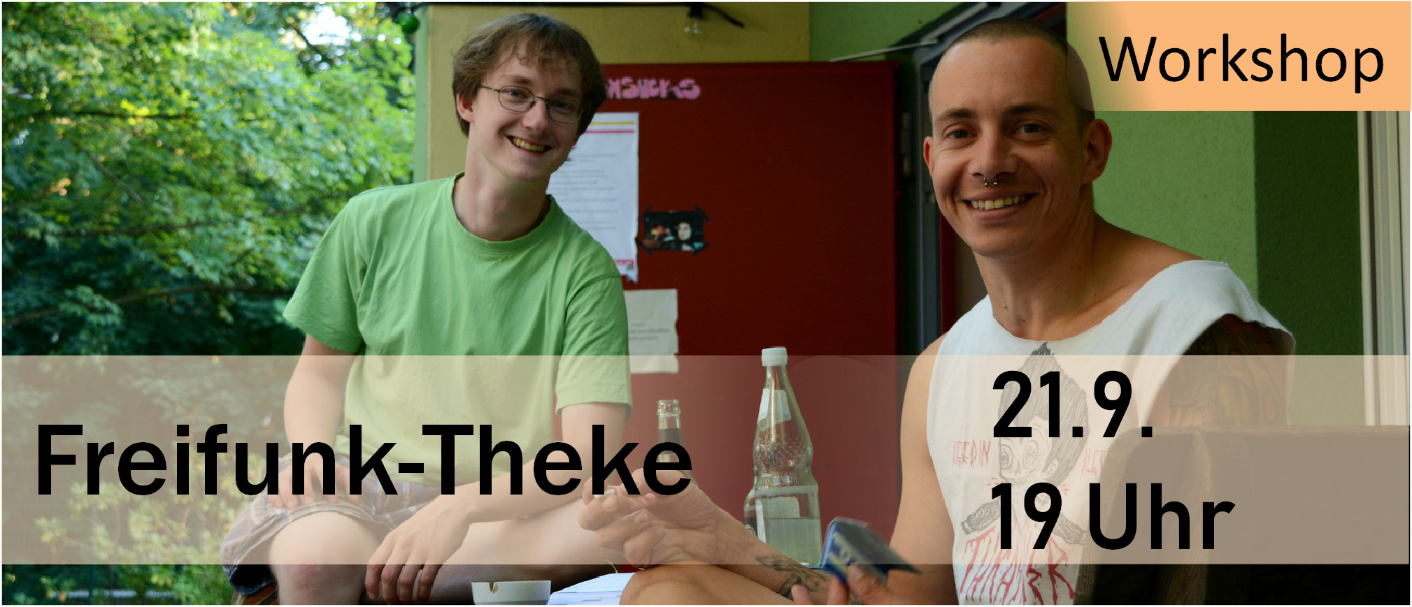Freifunk-Theke Martin Huebner