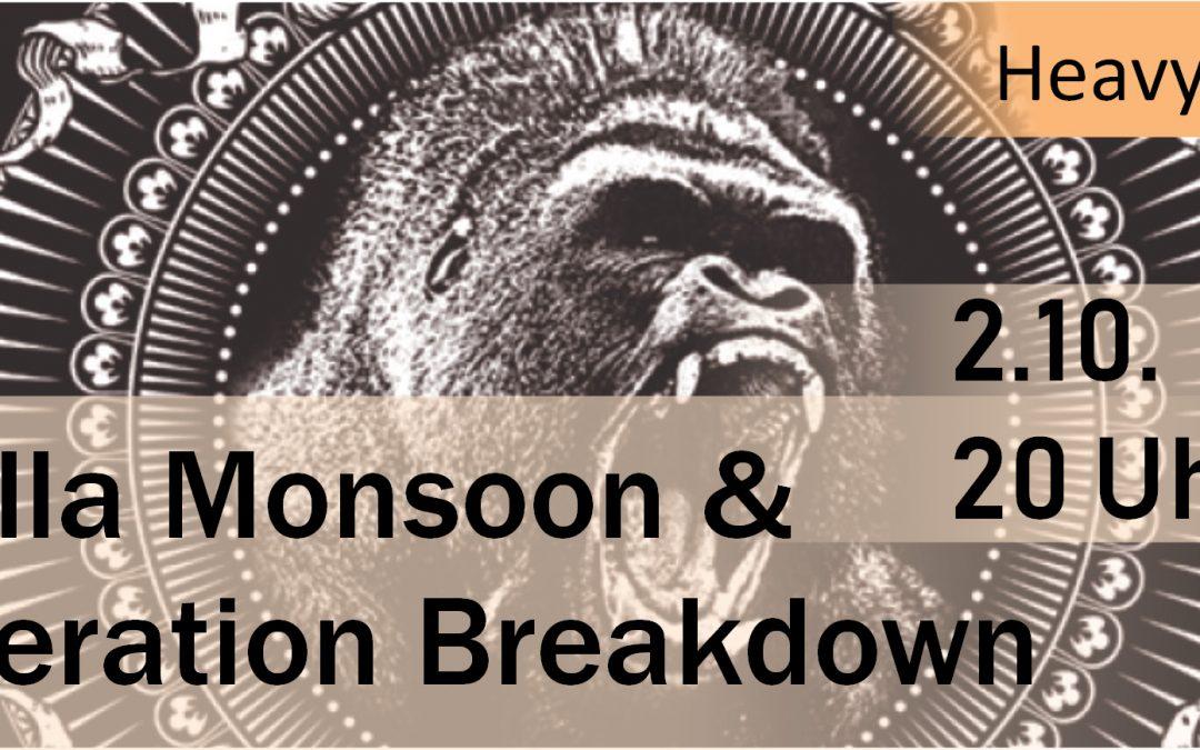 live Gorilla Monsoon w/ Generation Breakdown
