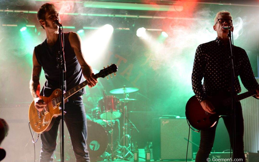 Alter Rock, neue Schule: Continental und Offensywa im Parkclub