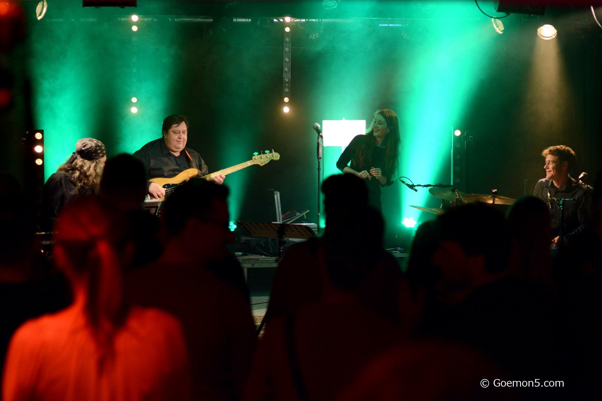 Annemarie Mai Band im Parkclub 67
