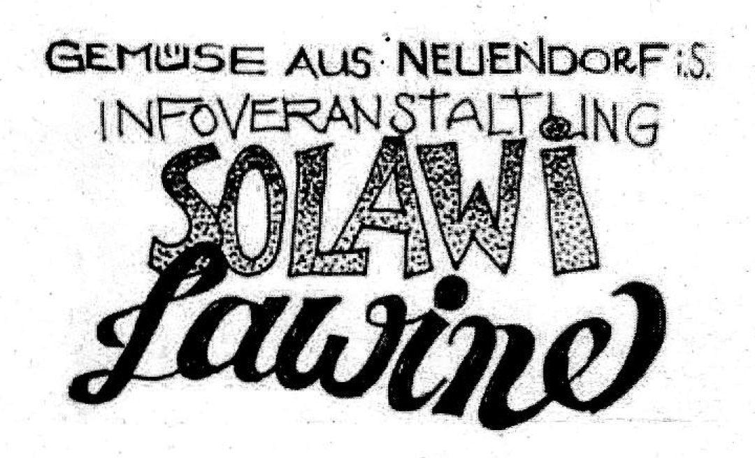 Solawi Lawine – Solidarische Landwirtschaft in Fürstenwalde und Umgebung